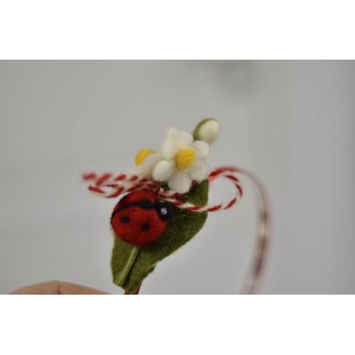 Диадема калинка с маргаритки
